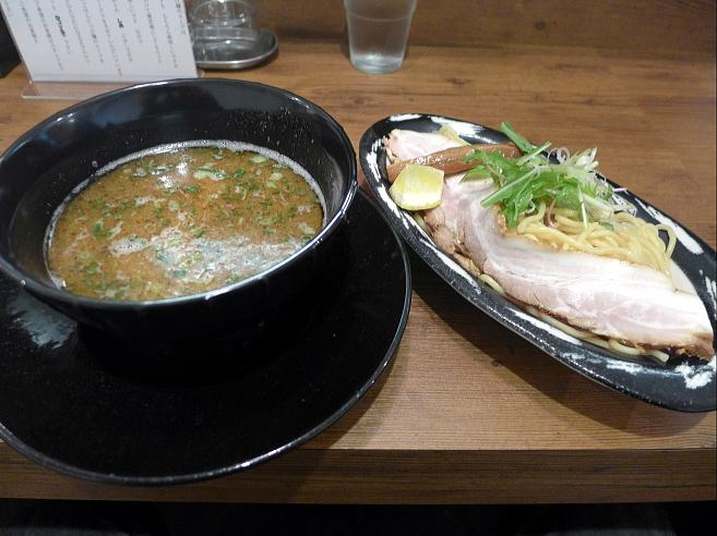 ラーメン ロケットキッチン@01トリ塩つけ麺 1