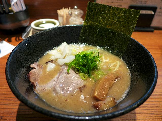 らー麺 鉄山靠 本店@01醤油とんこつらー麺 1