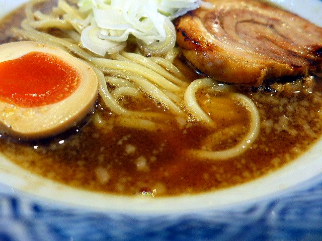 SOUPNUTS@02魚介出汁らーめん 2