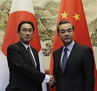 訪日中国人のビザ緩和=岸田外相が伝達