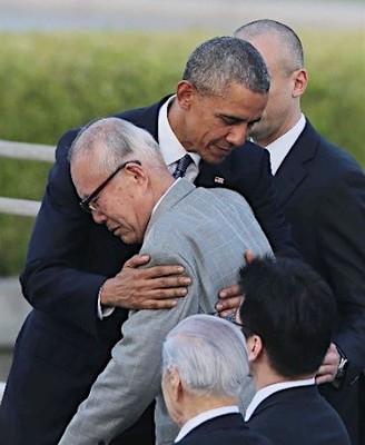 「原爆の惨劇、忘れない」嘘吐きオバマの広島訪問演説・「核なき世界」演説後に核開発を推進・今後も核兵器に110兆円を投入