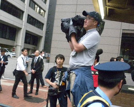 20160619日本大使館前売春婦像撤去要求デモ in 帝都