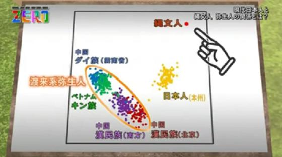 周辺諸国と日本人のDNAは全く違う。色濃く残る縄文人の性格