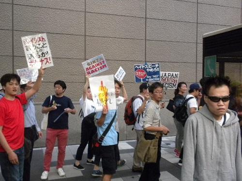 【日韓通貨スワップ協定再開絶対反対デモin帝都】平成28年9月25日、銀座、新橋など