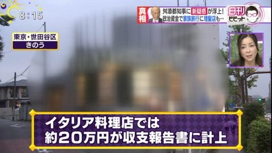 5月11日放送TBS 白熱ライブ ビビット、舛添要一都知事の政治と金の問題報道