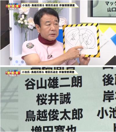 青山繁晴先生も桜井誠候補も呼んで討論会を開くべきだと「虎ノ門ニュース」で語ったそうです
