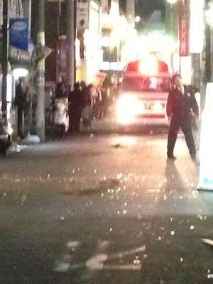 支那人不良少年グループによる日本人男女3人刺傷事件が起きた当時の西川口駅周辺中国人不良少年グループによる日本人男女3人刺傷事件が起きた当時の西川口駅周辺