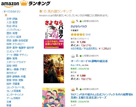 千葉麗子の「さよならパヨク」、Amazonベストセラー1位に