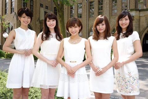 【画像あり】ミス学習院コンテストのポーズが韓国式の「コンス」ではないかと話題wwwwwwwwwww