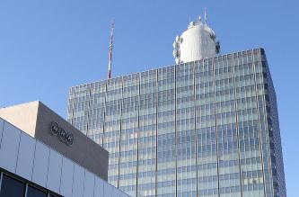 NHK放送センター=東京都渋谷区で2014年1月、山本晋撮影