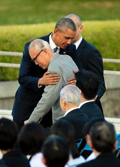 被爆者相手に嘘を重ねる嘘吐きオバマの広島訪問演説・「核なき世界」演説後に核開発を推進・今後も核兵器に110兆円を投入