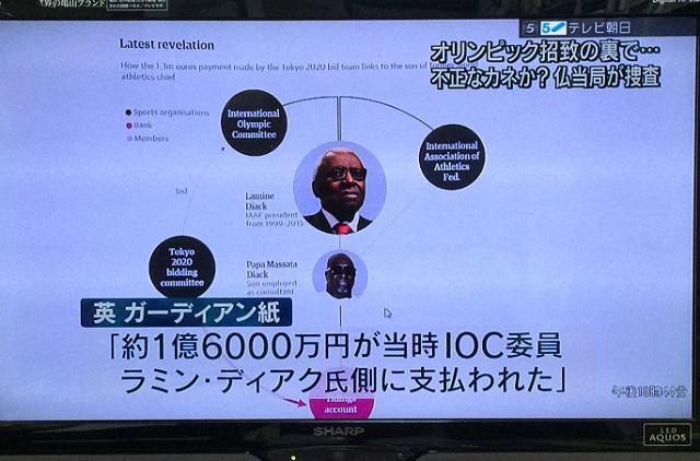 日本の報道(テレビ朝日)