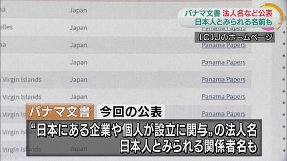 パナマ文書 日本の個人や企業が設立関与の法人など多数