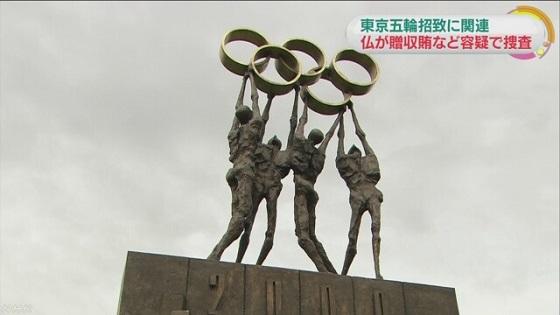 NHK東京五輪招致で仏検察捜査 日本の銀行口座から送金か