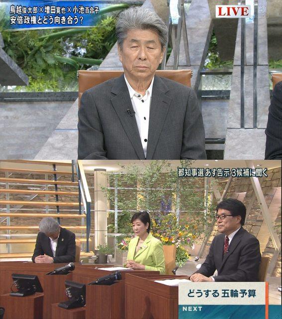 【これは心配】都知事選 鳥越俊太郎さんの容態が悪化か!病院へGO 【かわいそう】7月13日報道ステーション