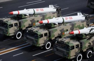 中国浙江省沿岸の核ミサイル631発