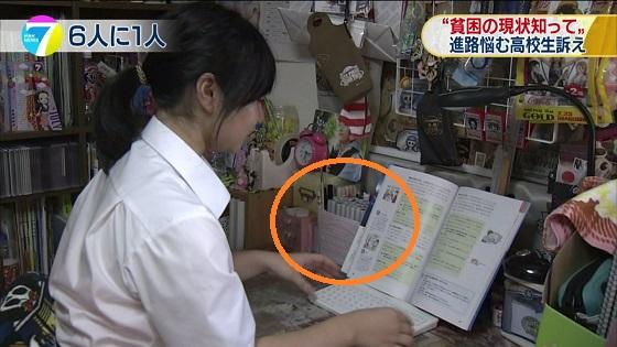 子どもの貧困 学生たちみずからが現状訴える NHKニュースが捏造うららさん、こんなイラスト画材まで揃えてる貧困家庭あるかいな
