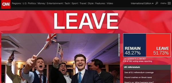 英国がEU離脱!移民拒否!