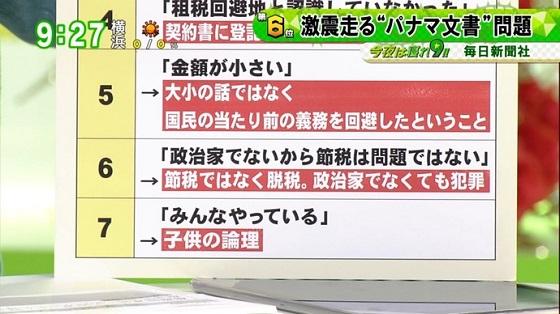 5月12日放送の東京MX「バラいろダンディ」では、出演した苫米地英人が「パナマ文書」について【電通】の名前を明記し、厳しく批判した!