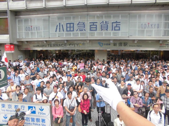 28.7.23【桜井誠 候補】東京都知事選 街頭演説in新宿駅西口