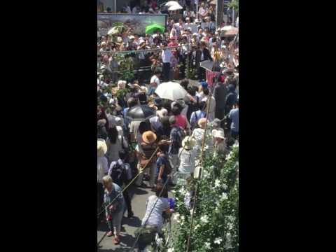 2016年7月18日13時巣鴨とげ抜き地蔵商店街演説 鳥越俊太郎