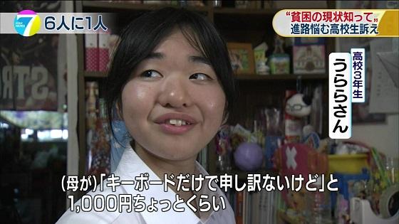 母「(4000円したけど、気を使わせたくないわ)・・・ううん!1000円のよ、安いのしか買ってあげられなくて御免ね」