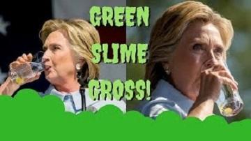 ヒラリー・クリントンが口から緑色の物を吐き出す!ヒラリーが口から緑色の物を吐き出す!肺炎?ダイエットコーラ(アスパルテーム)の飲み過ぎで失明も