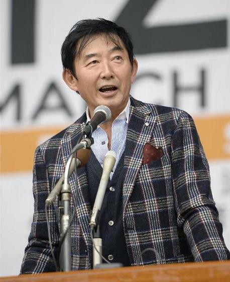 2015年12月6日 安全保障関連法の廃止を求める集会に登壇した石田純一