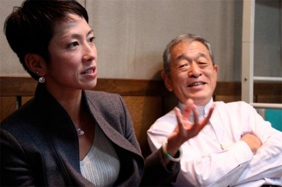 反日極左工作員の高野孟は、テレビ朝日の特集番組で、自分が蓮舫を北京大学に推薦して留学させ、日本の政界に送り込んだと自慢げに話していた。
