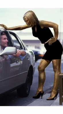 売春婦クソ婆像