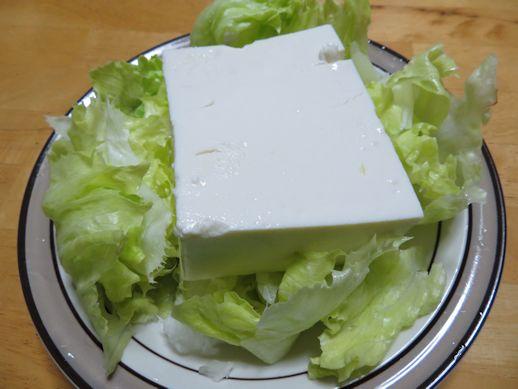 豆腐 サラダ・??