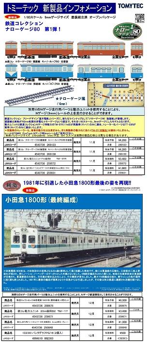 トミックス鉄コレナロー11月3