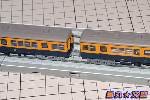 鉄コレ「小田急電鉄1600形電車(デハ1607+クハ1657)」03