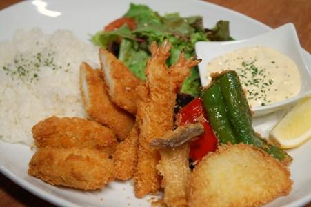 魚介&野菜フライ