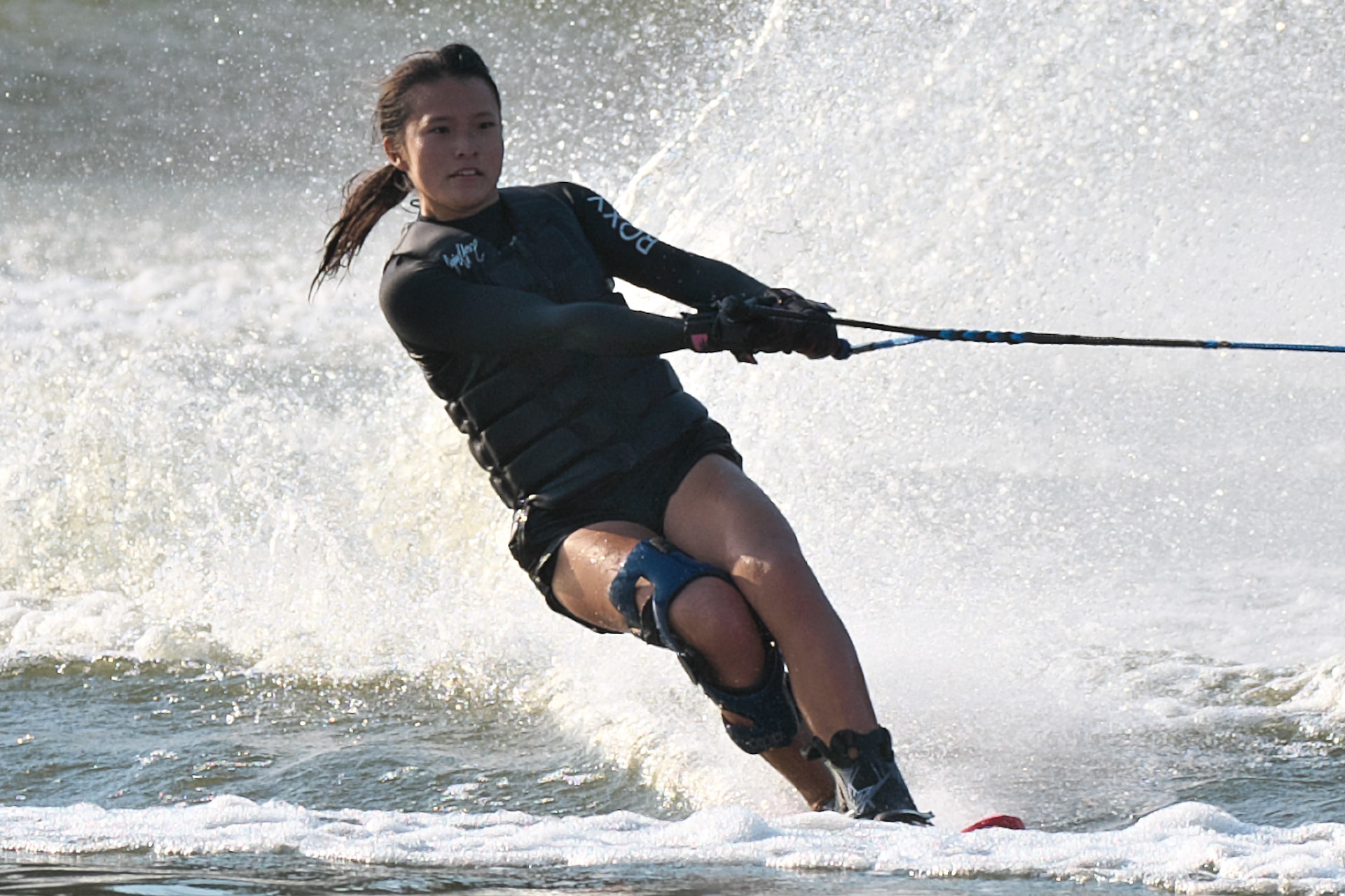 2016JcWC_Slalom3位 真田紫帆選手(早)