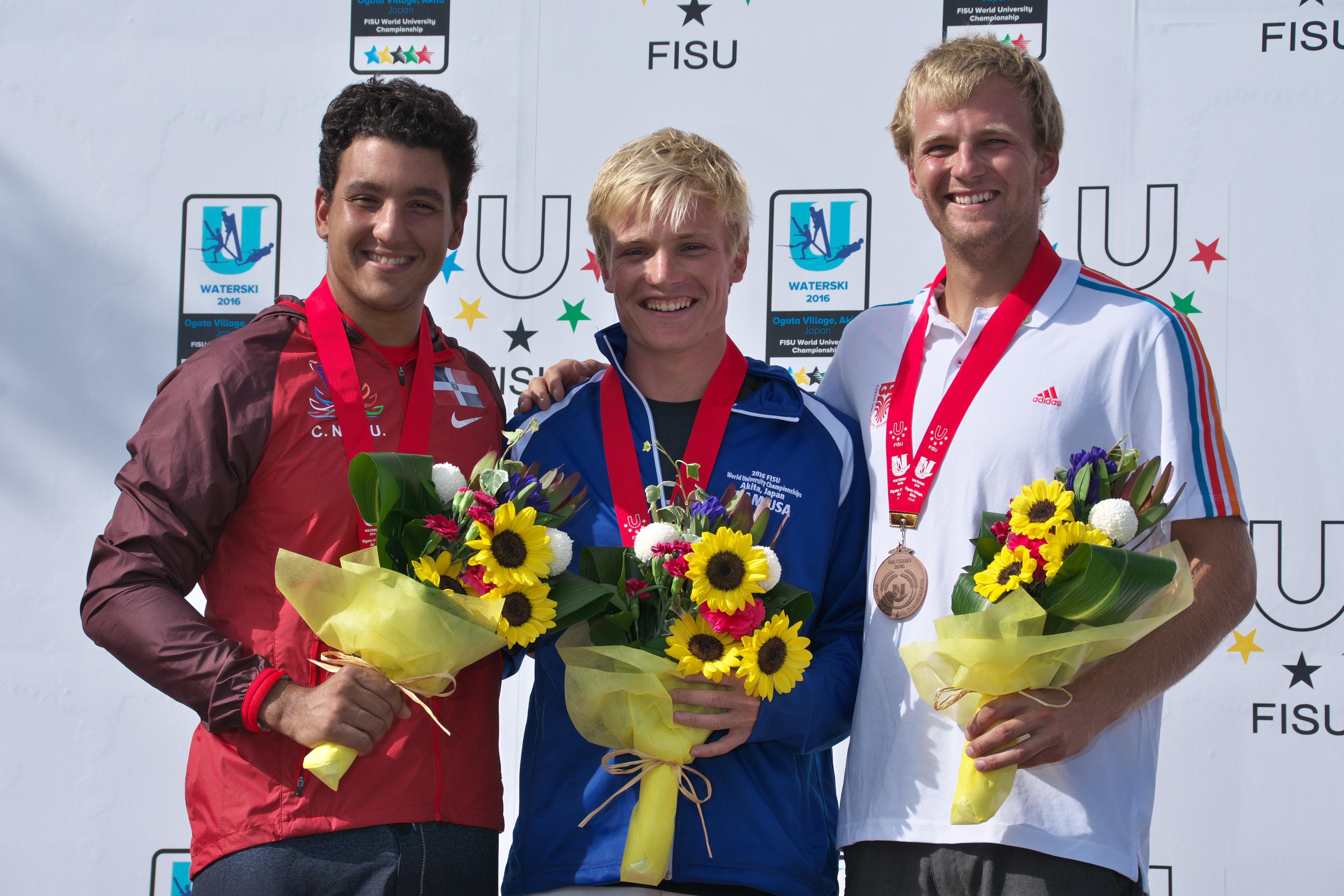2016WUC Slalom Medal presentation