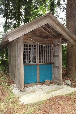 曲田八幡神社相善社遠景