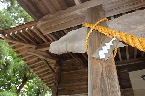 曲田八幡神社意匠