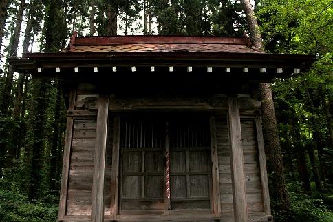 三峯神社社殿正面