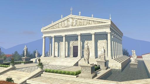 アトランティス神殿