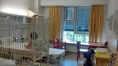 次女の病室