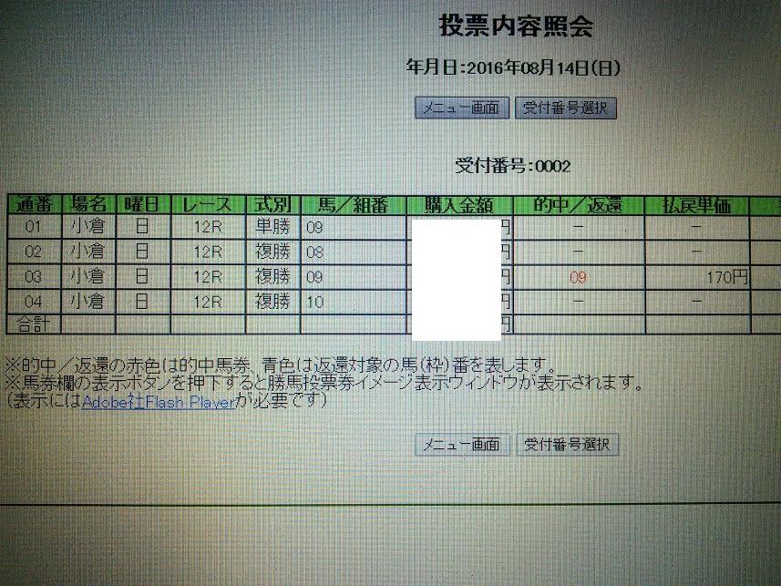 小倉12R8月14日
