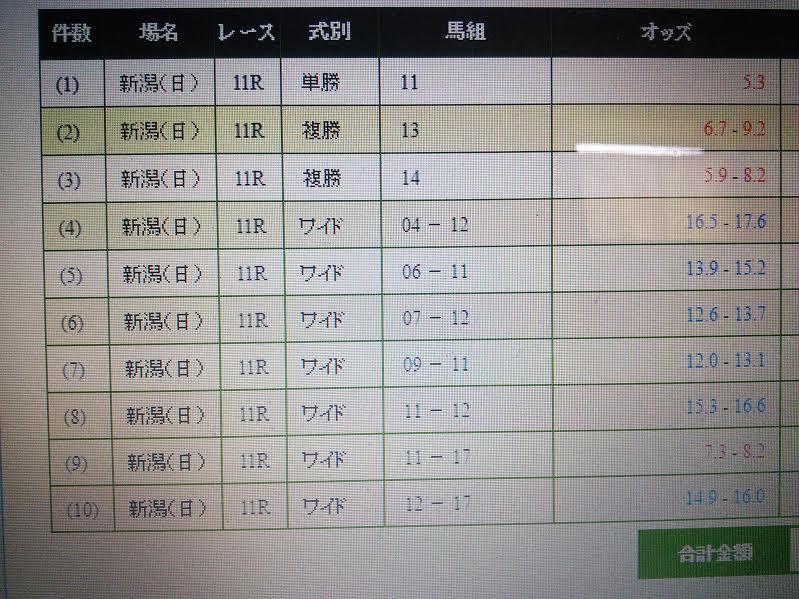 関屋記念(G3)
