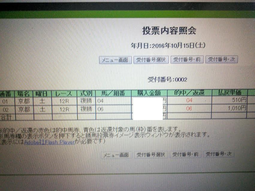 10・15 京都12R