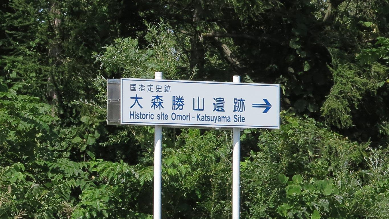 大森勝山遺跡 - 誰も紹介しない...