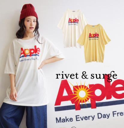 apple オーバーTシャツ1