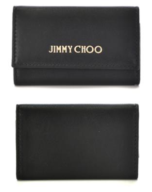 JIMMY CHOO レザー 6連キーケース1