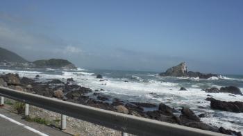 波が荒い太平洋