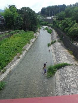 奥河内の石川は泳げる