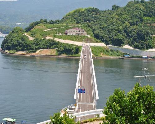九島大橋の眺め